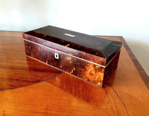 Tortoisehell & Ivory Box c1840
