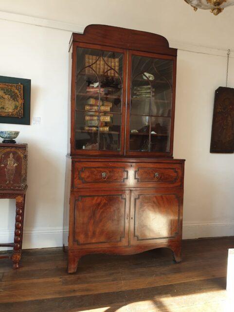 Regency Secretaire Bookcase c1815