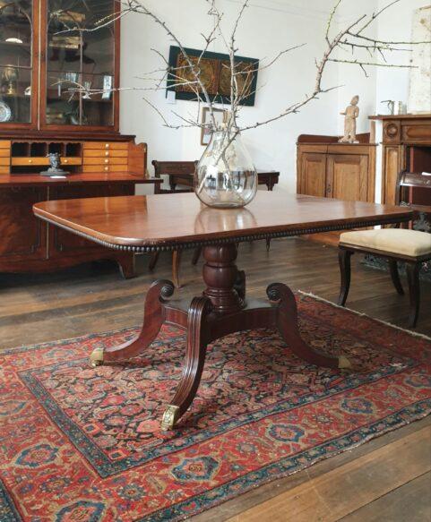 Scottish Regency Breakfast Table c 1815