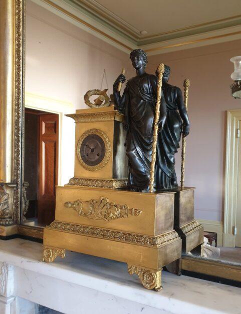 French Empire Mantel Clock c 1815