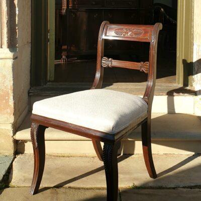 Scottish Regency dining Chairs c 1815