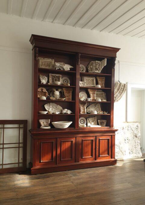 Australian Cedar Library Bookcase c 1880