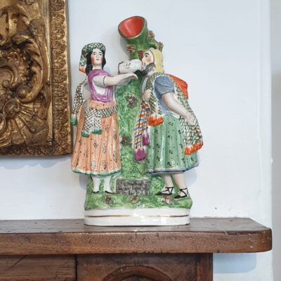 Staffordshire Mantel Vase c 1850