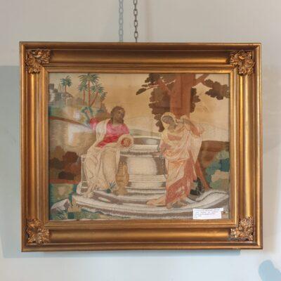 George III period Needlework c 1810