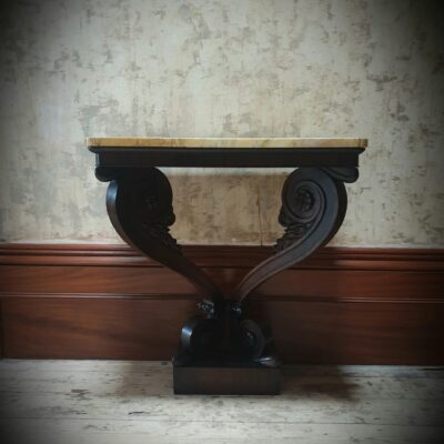 Greek Revival Rosewood console Table c 1830