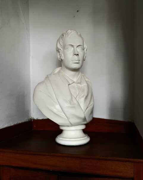 Library Bust of Robert Burns c1845