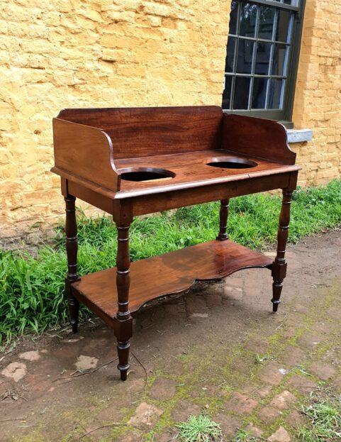 Tasmanian Colonial Period Cedar Double Washstand c 1840