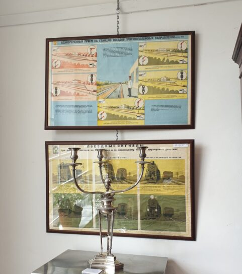 Russian Signal Posters c 1950