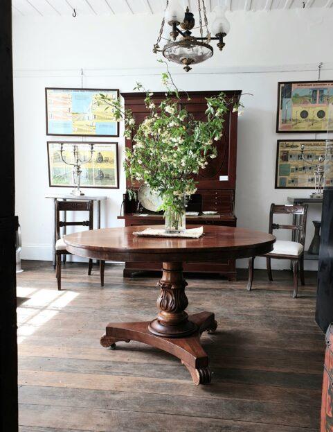 Tasmanian Colonial Cedar Table c 1845
